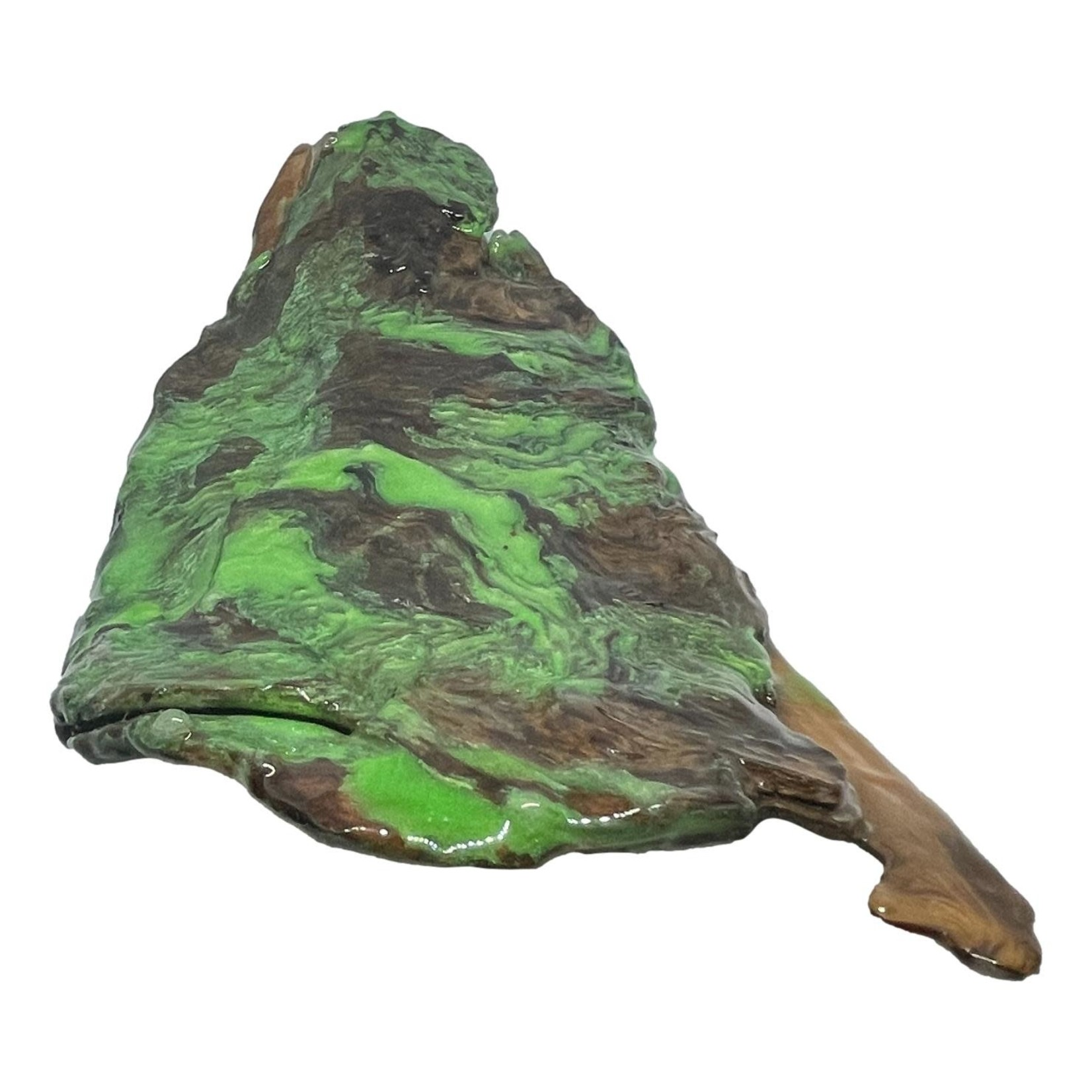 East Coast Sirens Green Driftwood Decor Piece