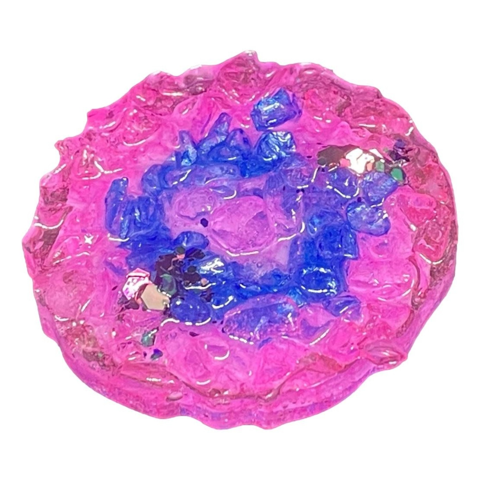 East Coast Sirens Pink & Blue Geode Style Phone Grip