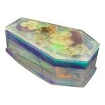 East Coast Sirens Iridescent Coffin Trinket Box