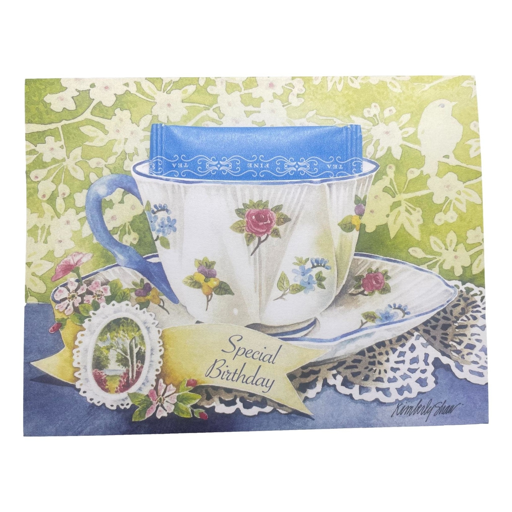 Off The Wall Gallery Special Birthday Teacup Card