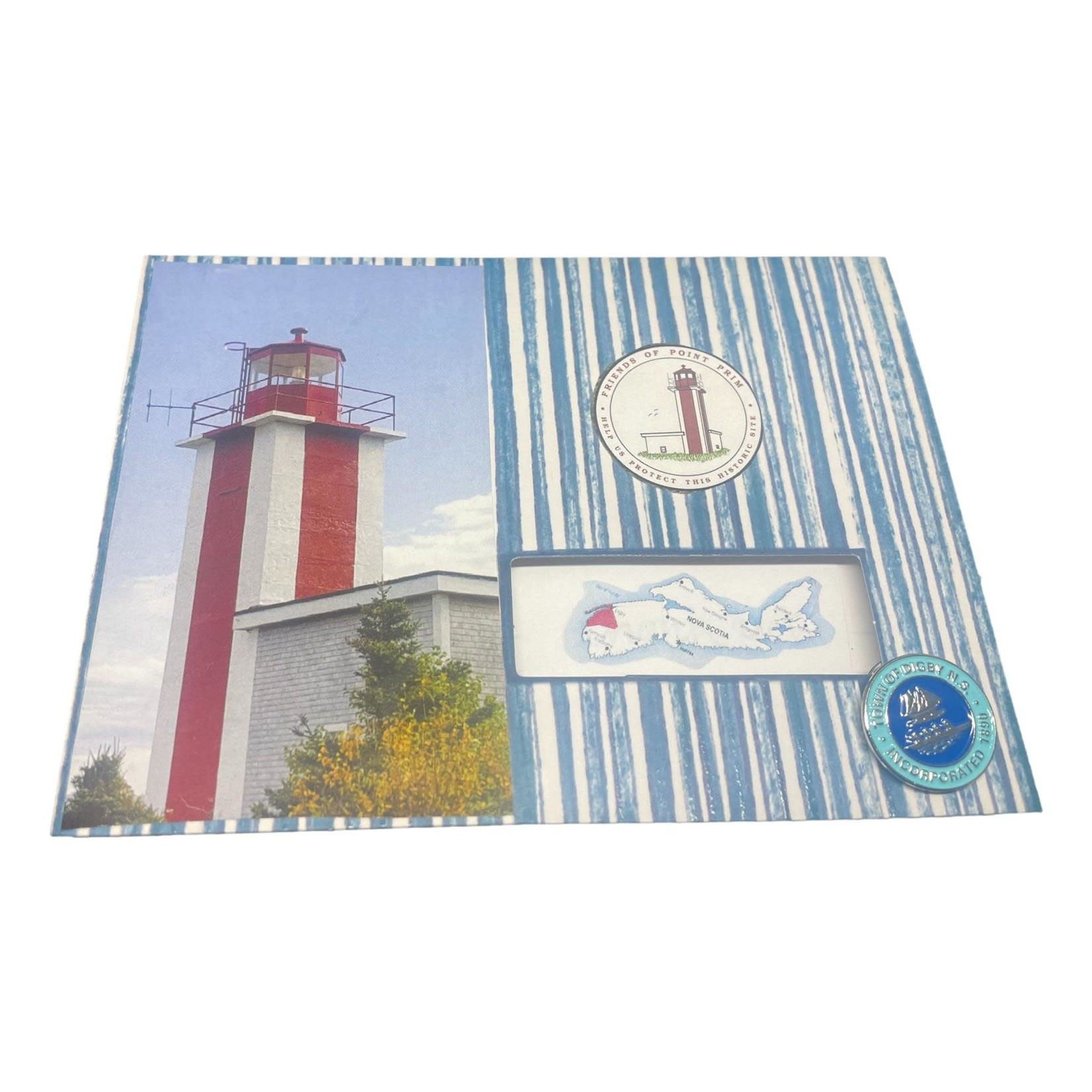 Off The Wall Gallery Point Prim Lighthouse Note Card
