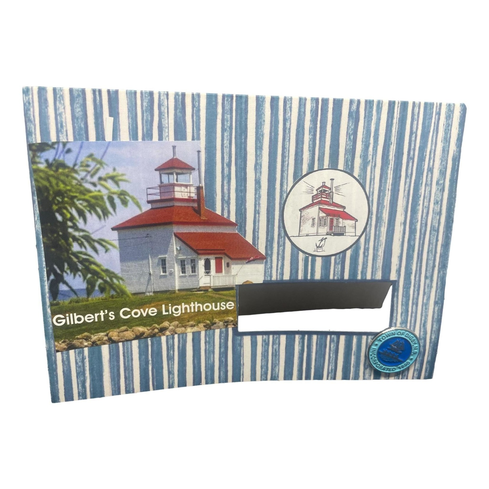 Off The Wall Gallery Gilbert's Cove Lighthouse Note Card