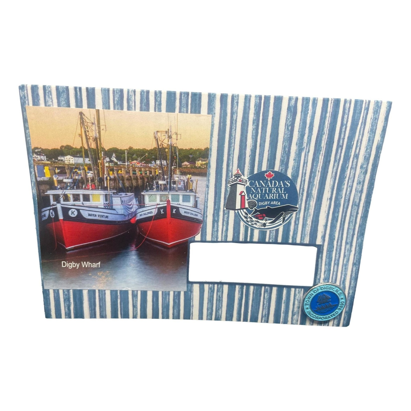 Off The Wall Gallery Digby Harbour Note Card