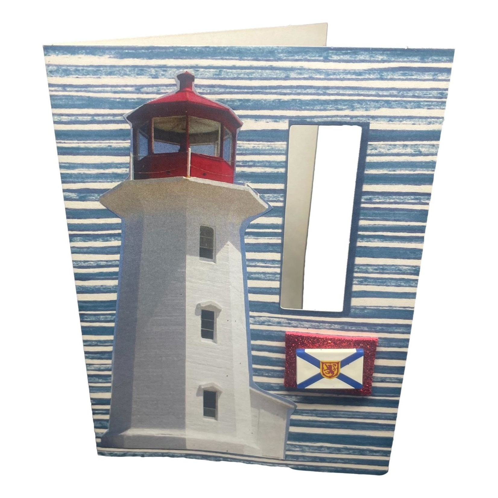 Off The Wall Gallery Atlantic Canada Lighthouse Note Card