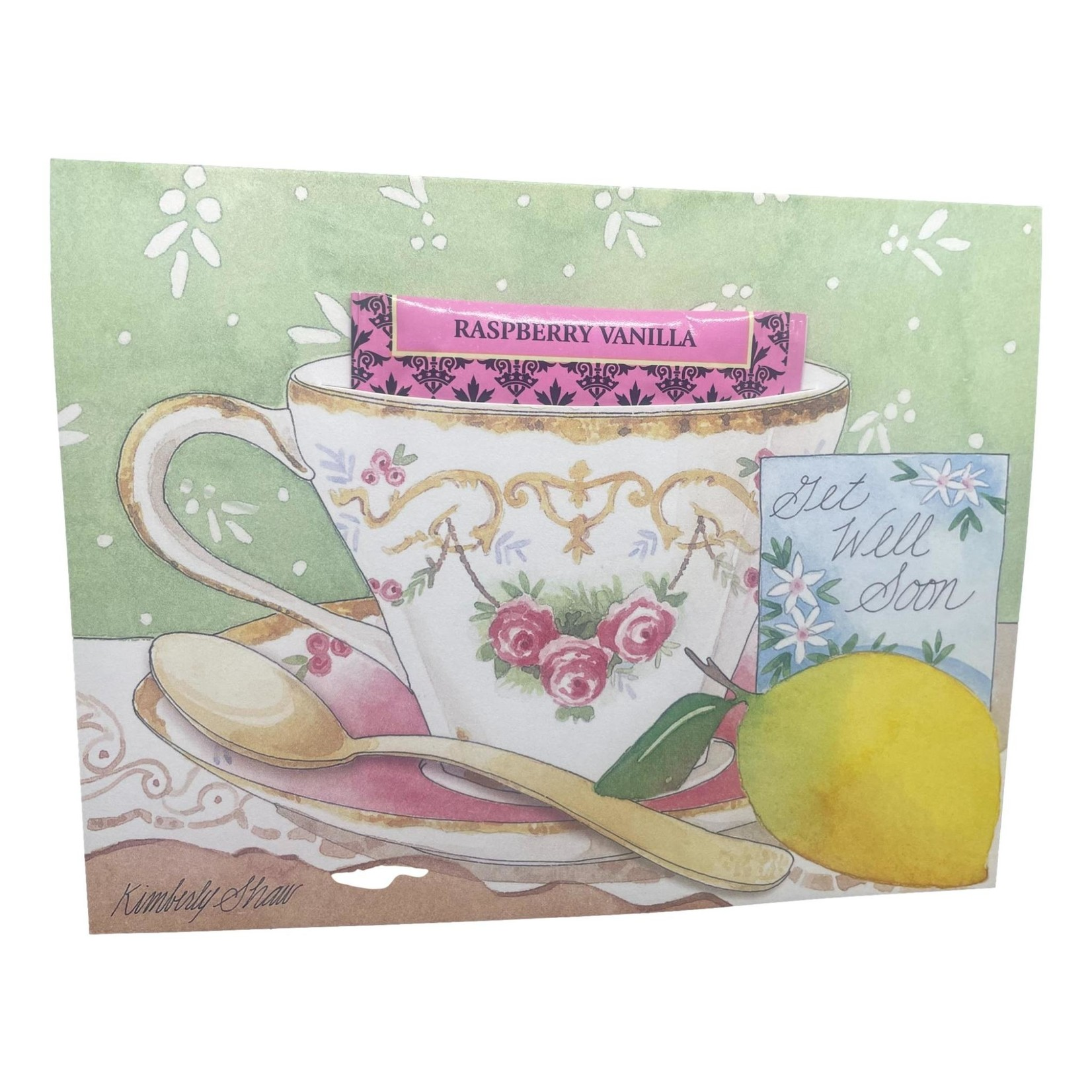 Kimberly Shaw Get Well SoonTeacup Card
