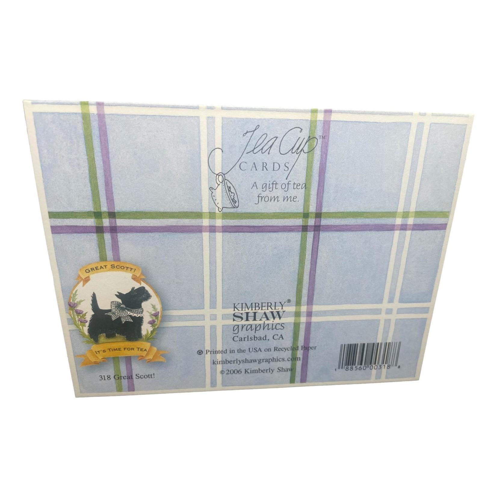 Kimberly Shaw Time for Tea Teacup Card