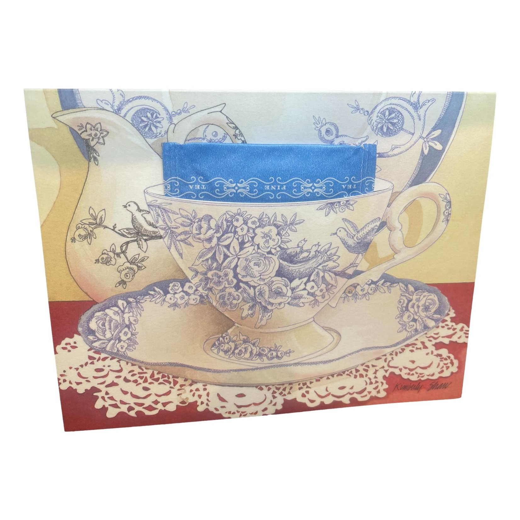 Kimberly Shaw Gorgeous Teacup Note Card