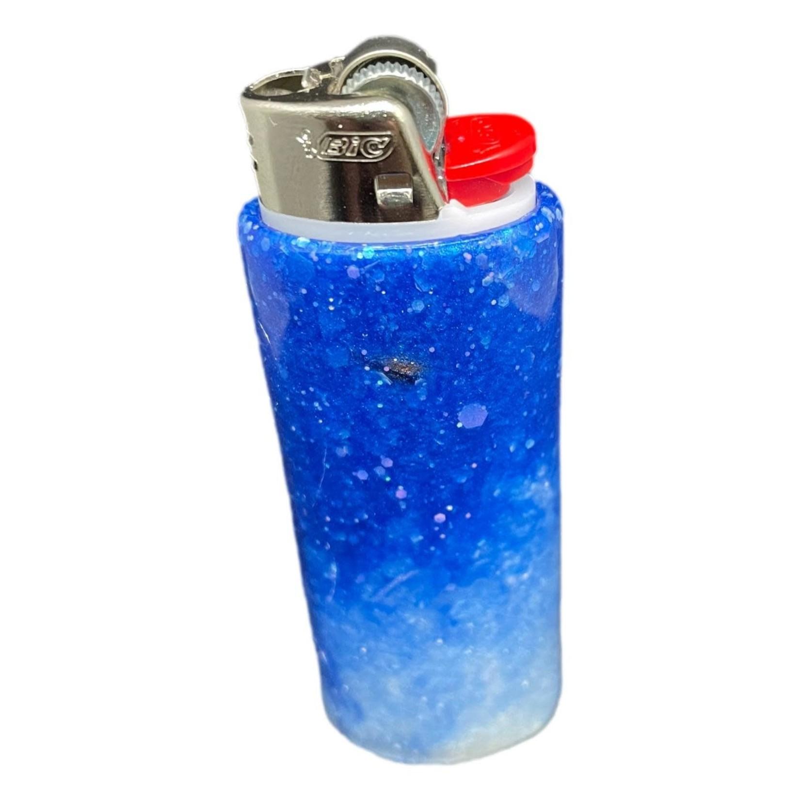 East Coast Sirens Blue & White Lighter Case (Small)