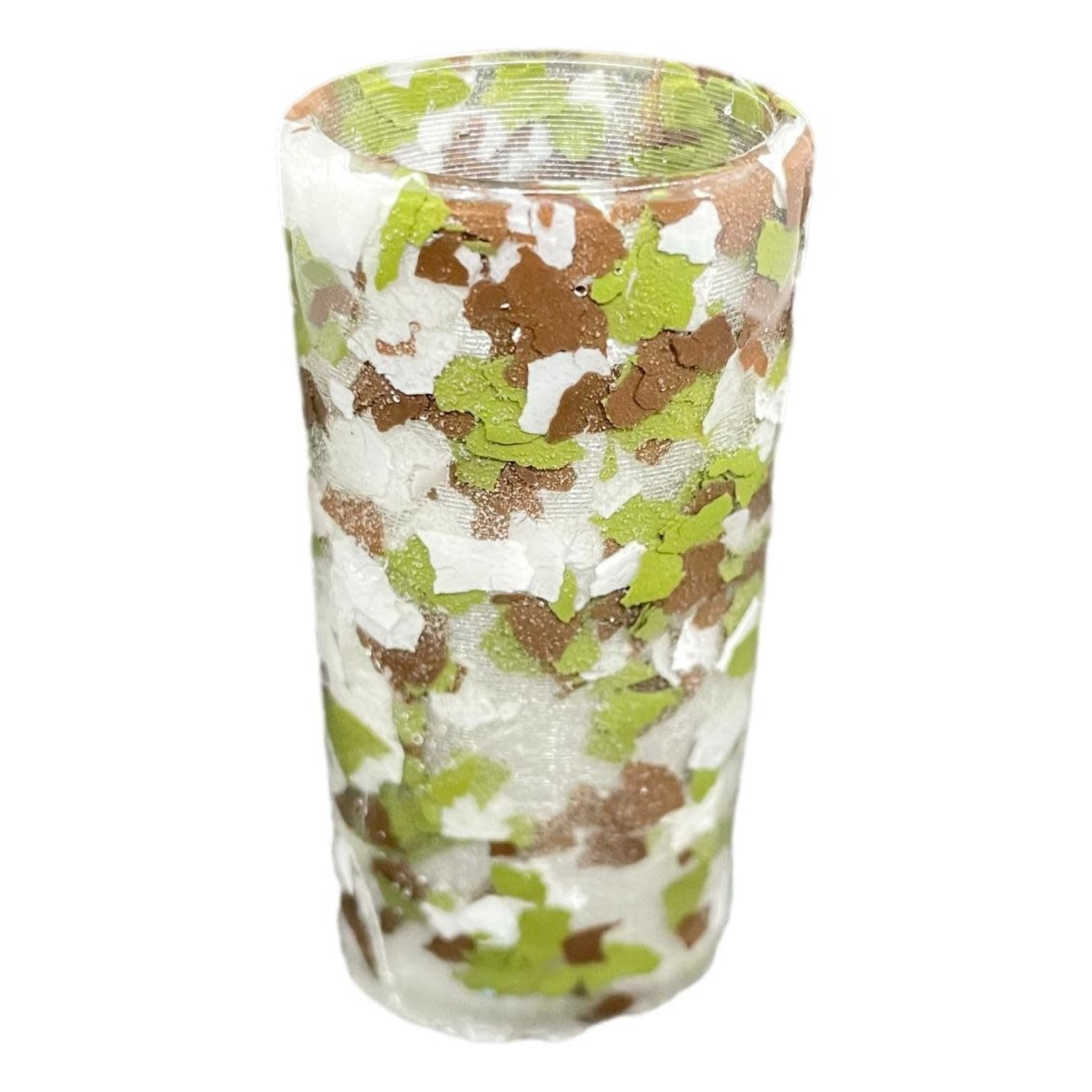 East Coast Sirens Brown & Green Camo Lighter Case (Small)