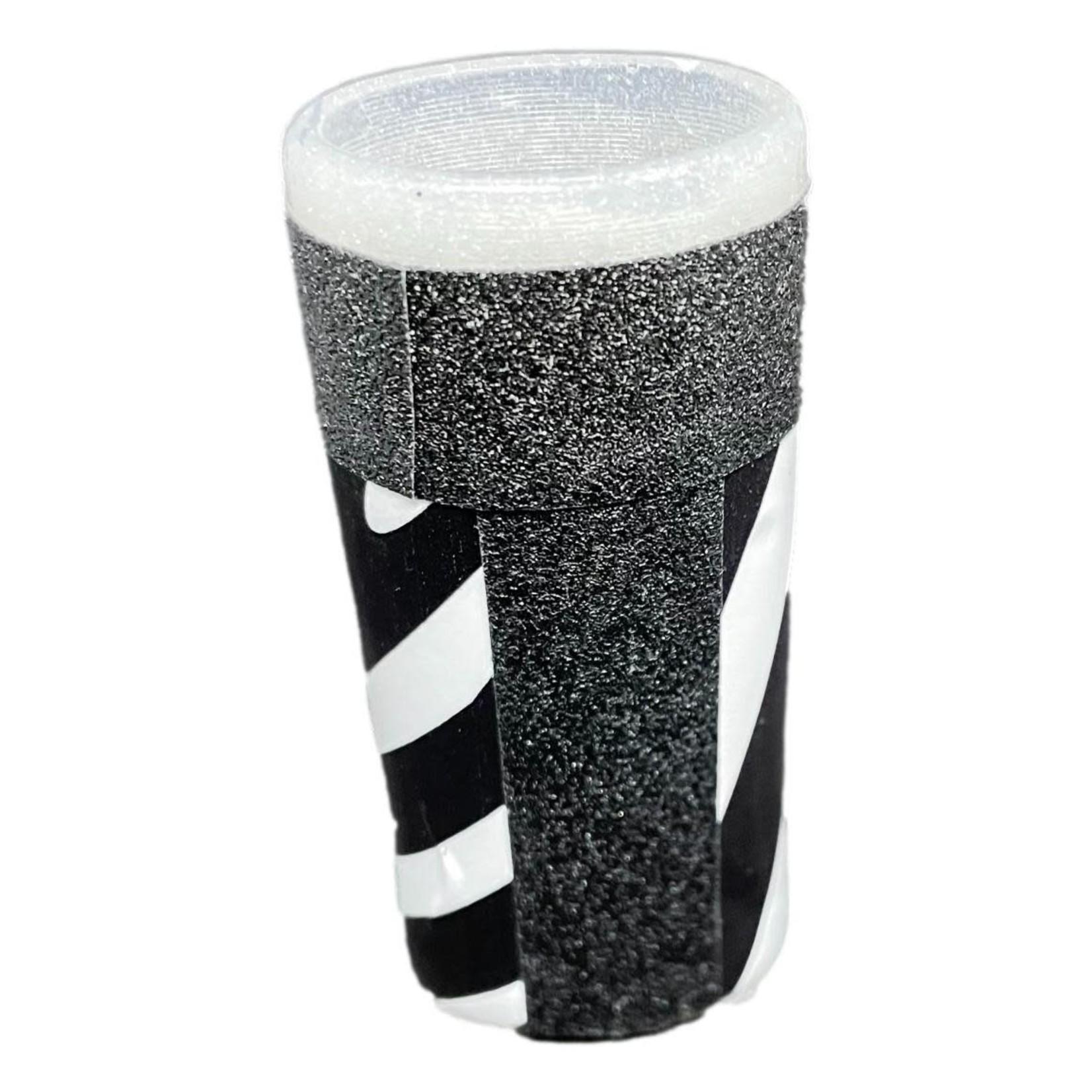 East Coast Sirens Black & White Stripe Lighter Case (Small)