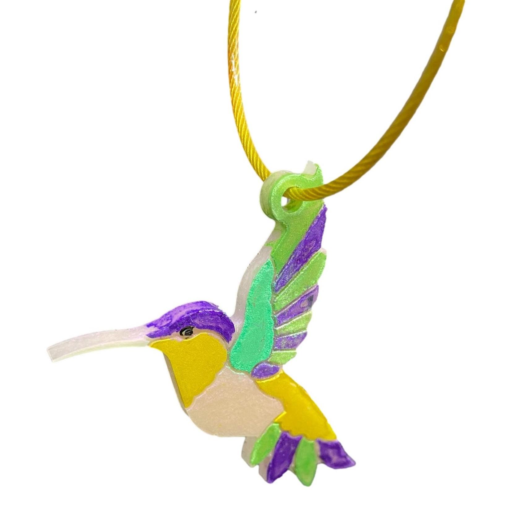 East Coast Sirens Colourful Hummingbird Key Chain