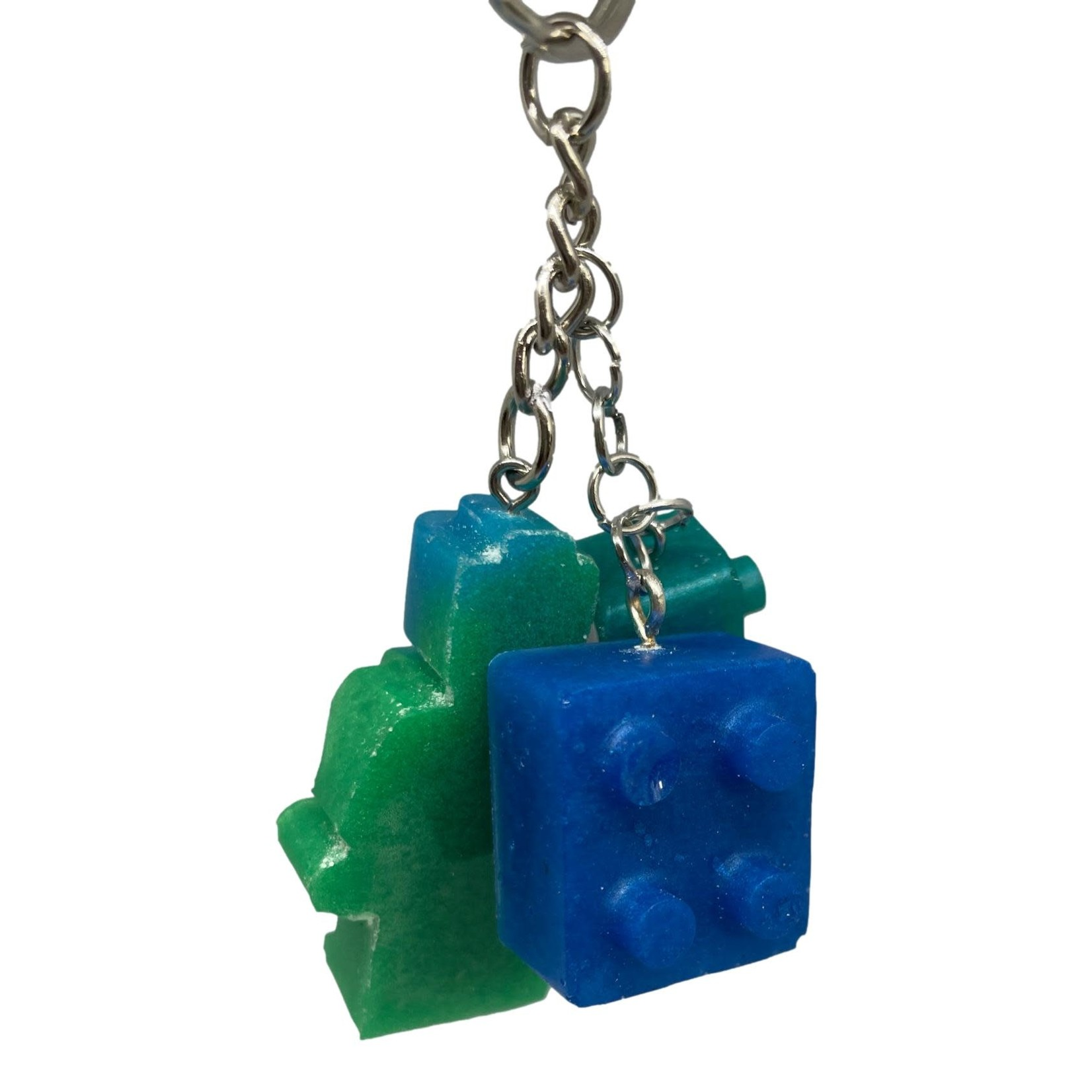 East Coast Sirens 3pc Lego Key Chain