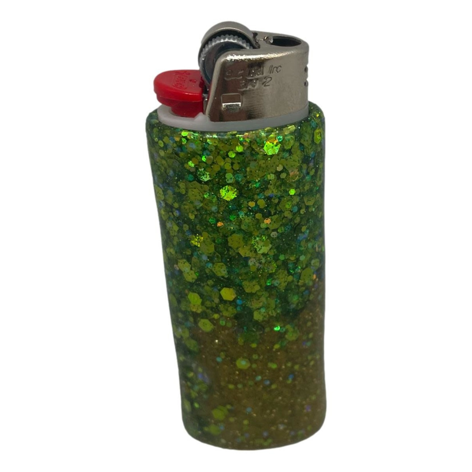 East Coast Sirens Two-Tone Green Lighter Case (Small)