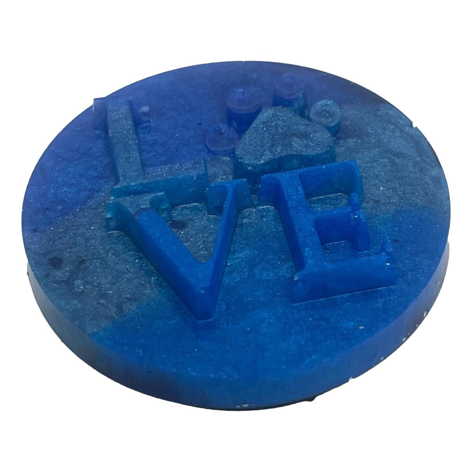 East Coast Sirens Three-tone Blue Puppy Love Phone Grip