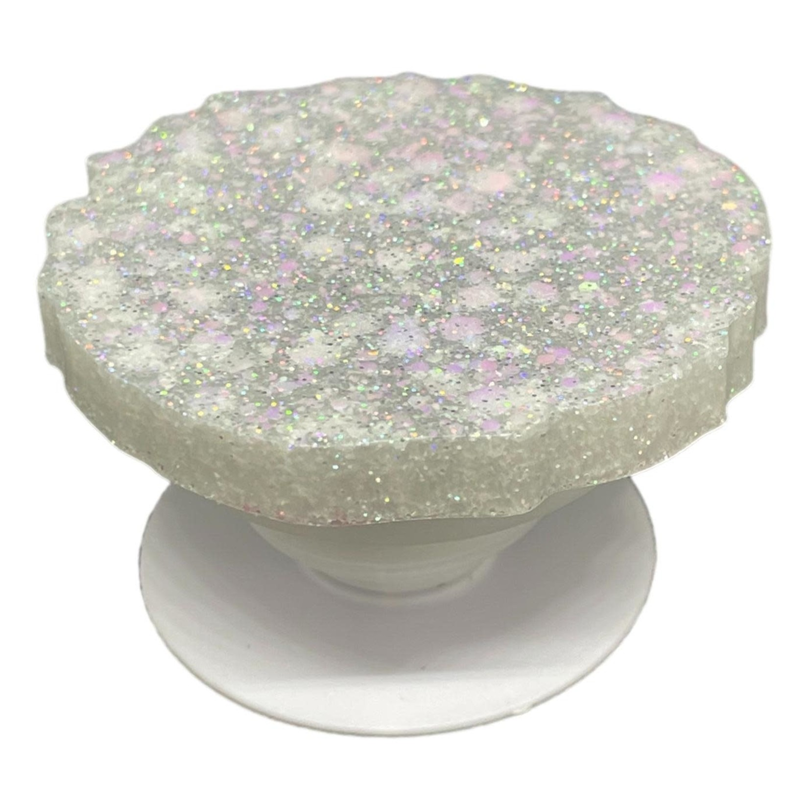 East Coast Sirens Sparkling White Geode-style Phone Grip