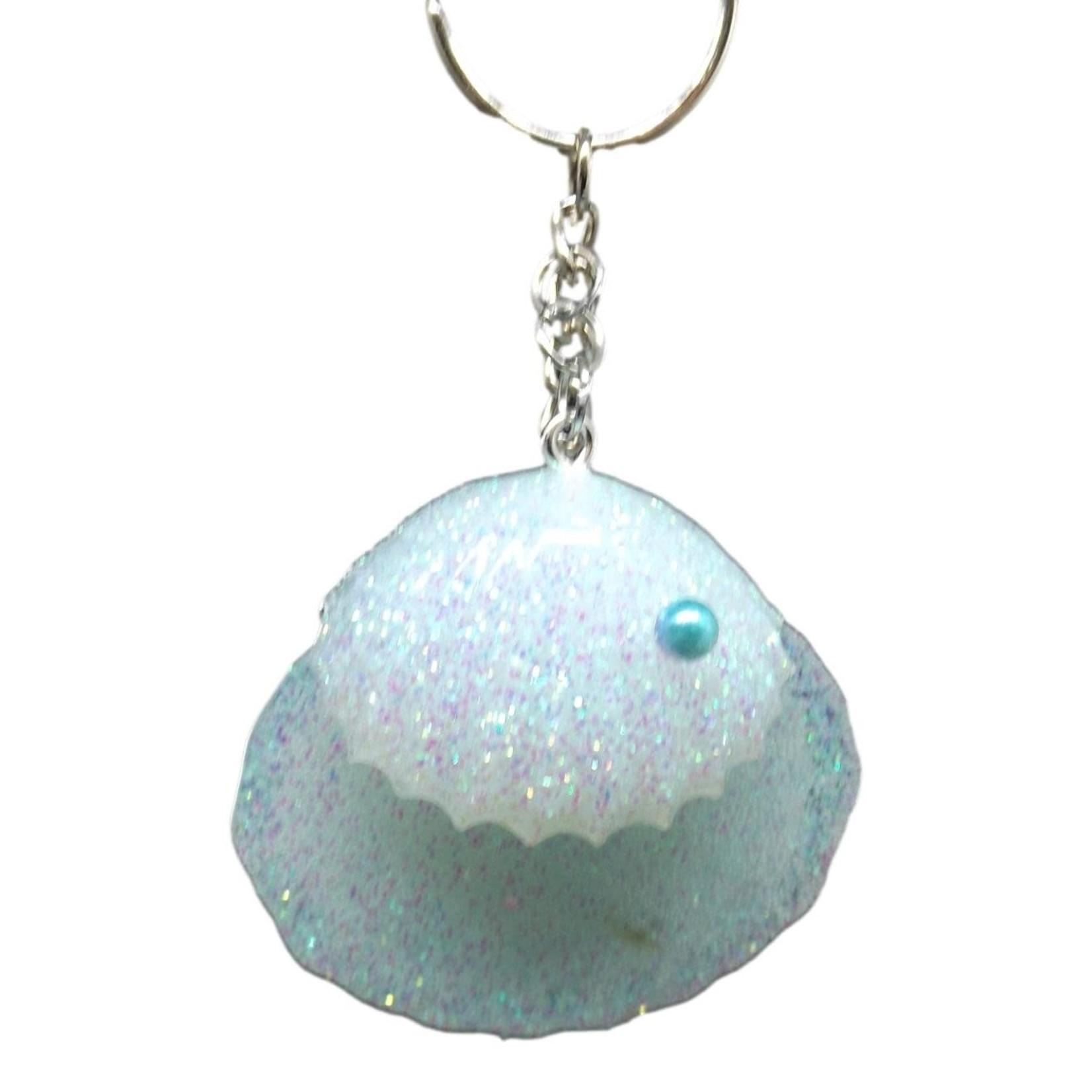 Scallop Shells Keychain