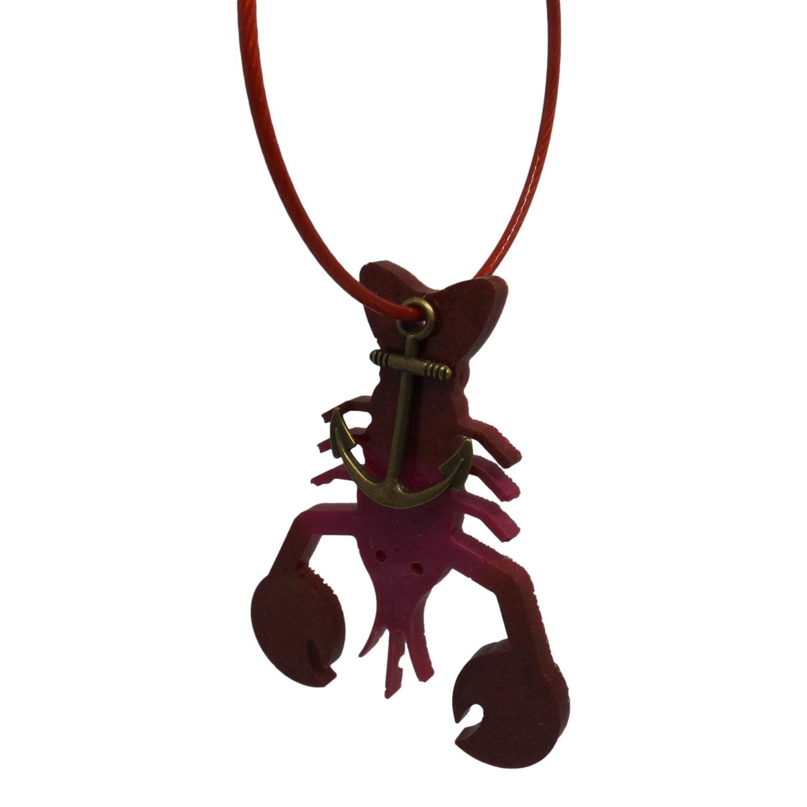 East Coast Sirens Two-tone Lobster Key Chain