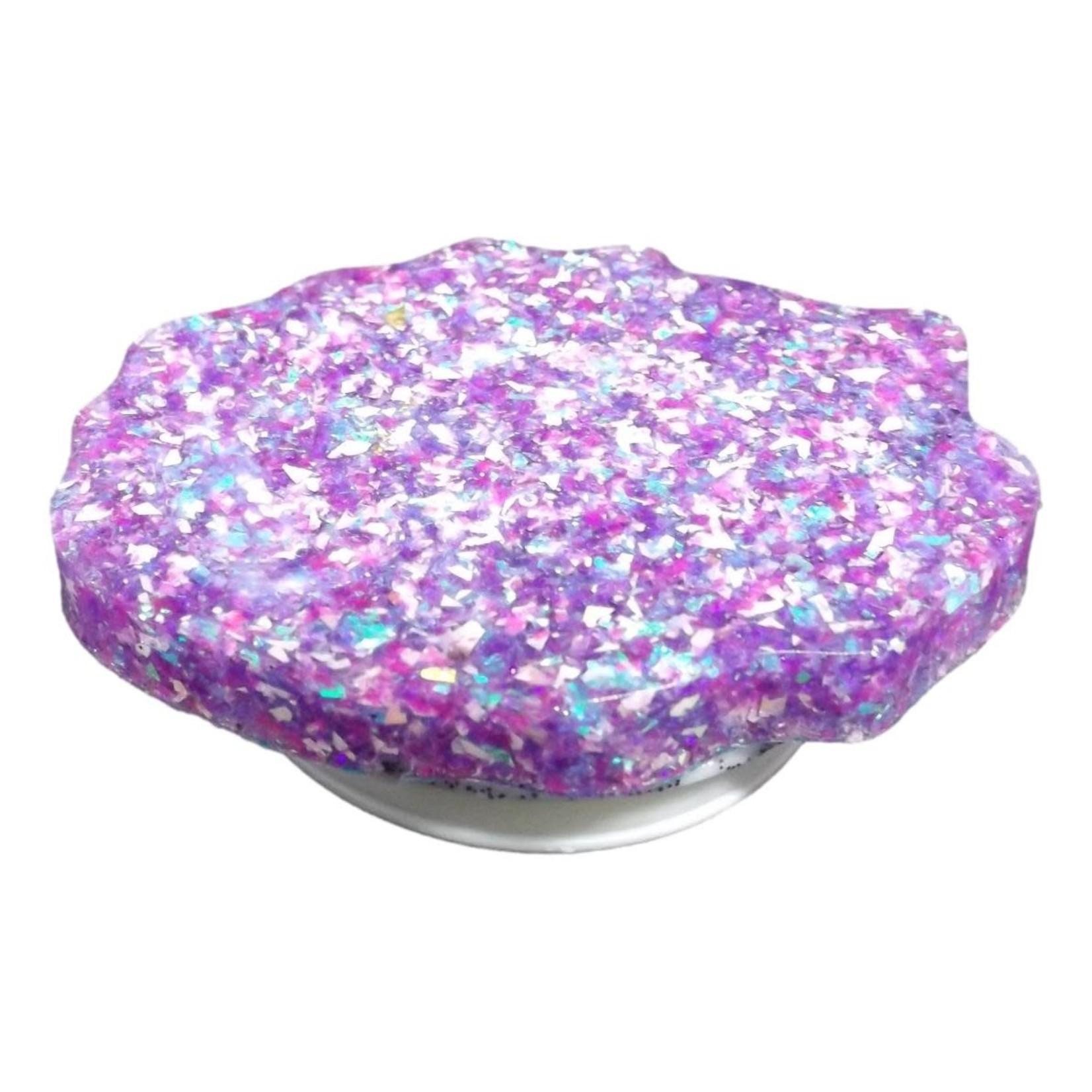East Coast Sirens Sparkling Purple Geode-style Phone Grip