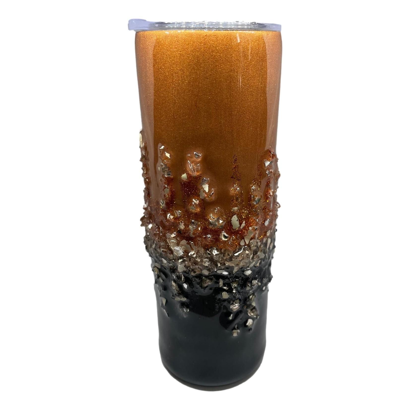 East Coast Sirens Black & Copper Tumbler 20oz