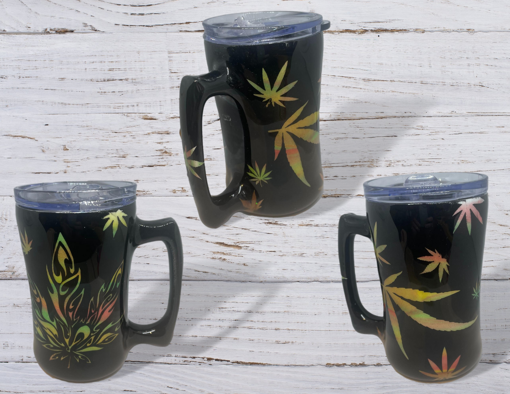 Weed Themed Beer Stein