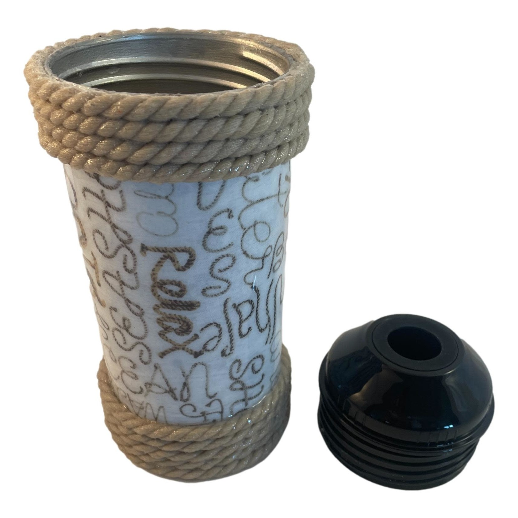 East Coast Sirens Nautical Rope SS Wine Cooler - 25oz