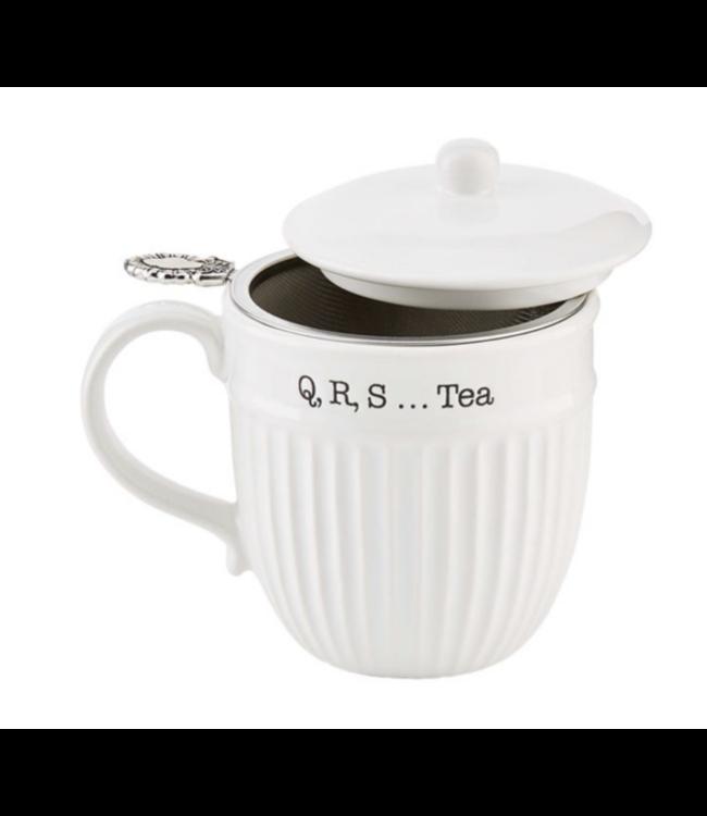 MudPie Tea Mug With Strainer Set