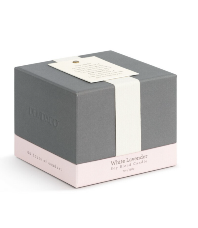 Demdaco Giving Candle - Comfort: White Lavender