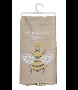 Primitives By Kathy Dish Towel - Queen Bee