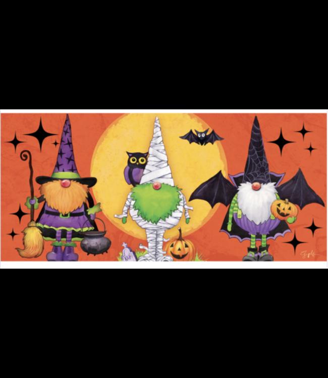 Evergreen Gnomes in Costume Sassafras Switch Mat