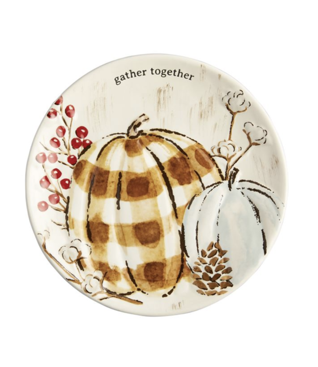 MudPie Gather Together Salad Plate