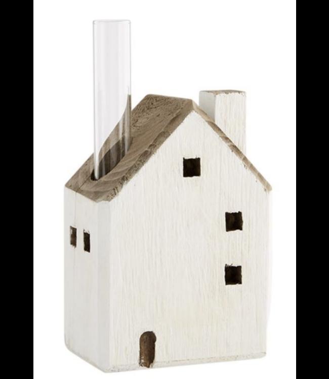 MudPie Big House Bud Vase