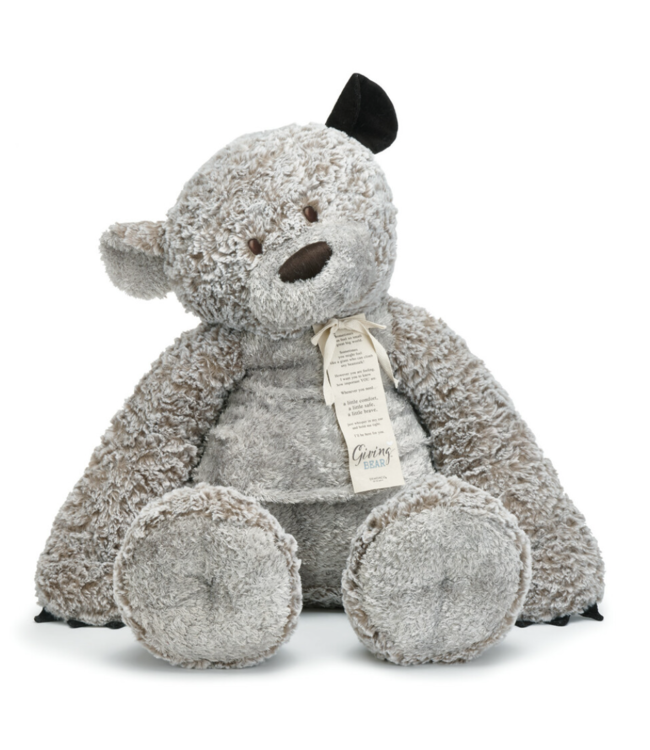 "Demdaco Jumbo 36"" Giving Bear Plush Teddy Bear"