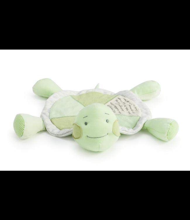 Demdaco Grow Slow Turtle Blankie