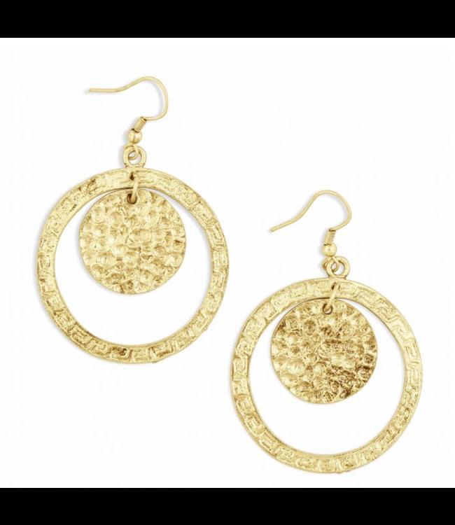 Myra Bag Intricate Patterned Earrings