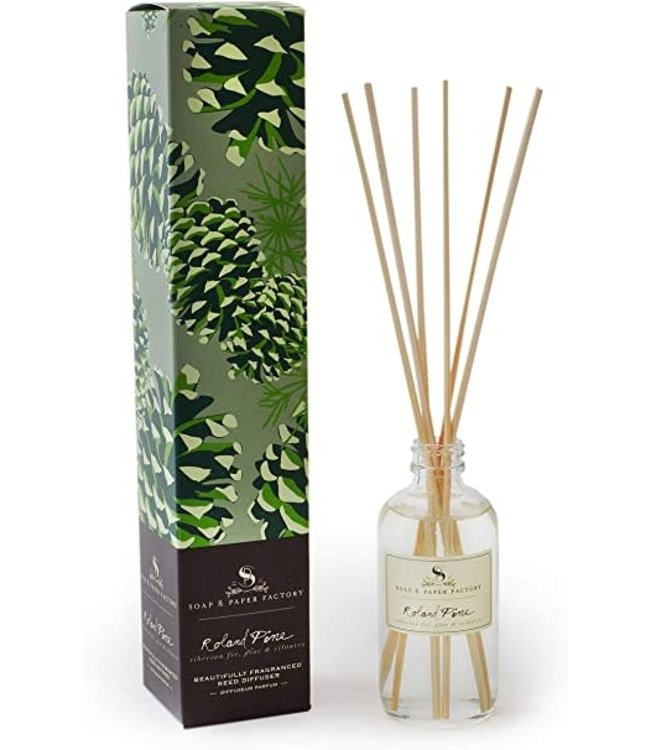 Soap & Paper Factory Roland Pine Reed Diffuser