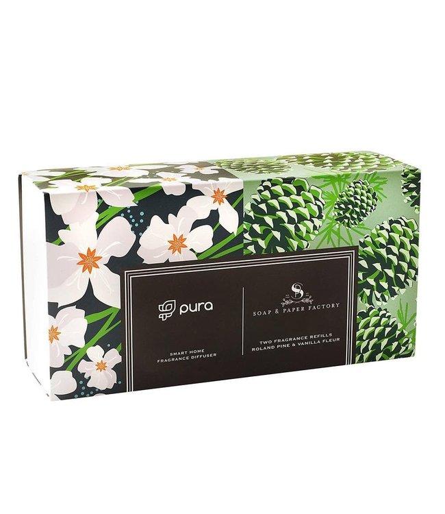 Soap & Paper Factory Pura Smart Home Fragrance Diffuser Set