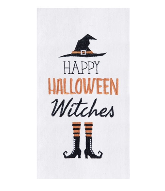 C&F Home Happy Halloween Witches Towel