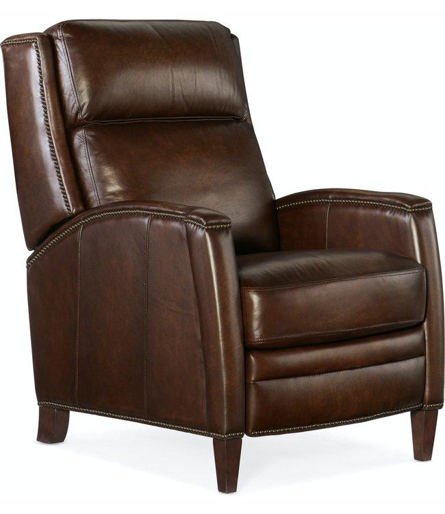 Hooker Furniture Declan Push Back Recliner - Brown