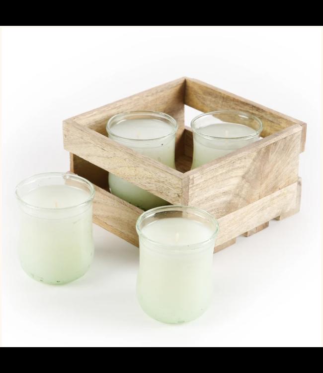Lux Fragrances Citronella Sampler Pack 2oz Candles