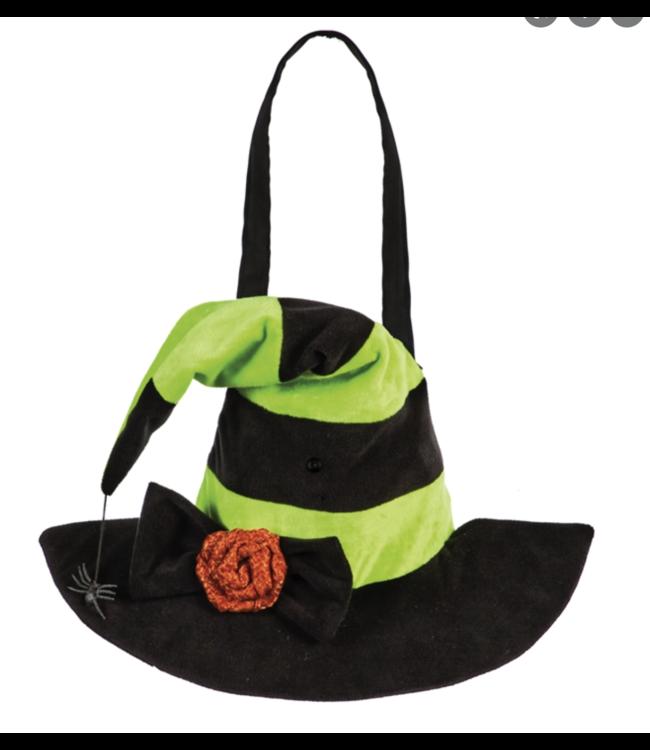 Evergreen Witch Hat Motion Door Decor