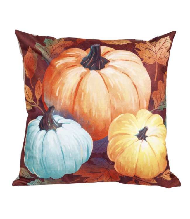 Evergreen Crafted Harvest Interchangeable Pillow Cover