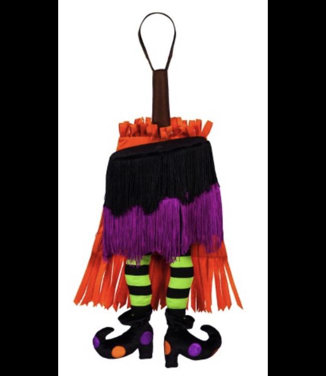 Evergreen Dancing Witch Skirt Motion Door Decor