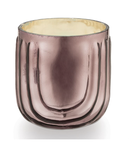 Illume Pink Pine Pressed Glass Candle