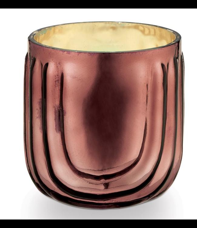 Illume Bon Bon Pressed Glass Candle