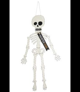 MudPie Skeleton Door Hanger