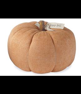 MudPie Large Orange Cotton Pumpkin
