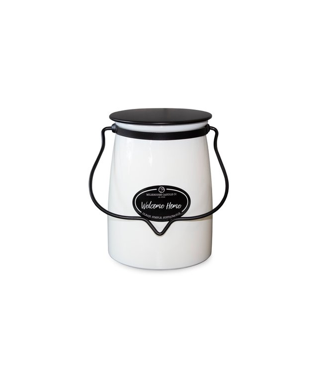 Milkhouse Candle Company Butter Jar 22 Oz: Welcome Home