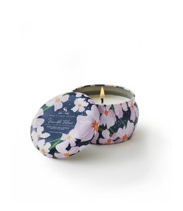 Soap & Paper Factory Vanilla Fleur Small Tin Soy Candle