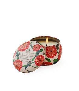 Soap & Paper Factory Pumpkin Chiffon Small Tin Soy Candle