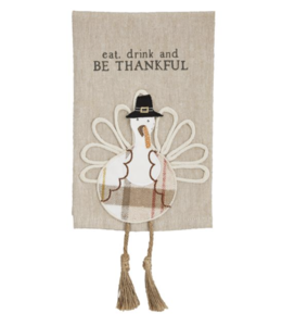 MudPie Turkey Dangle Leg Towel